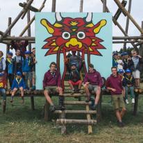 Kamp Merny 2017 - Groepsfoto's