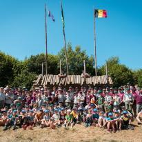 Kamp Rachecourt 2018 - groepsfoto's